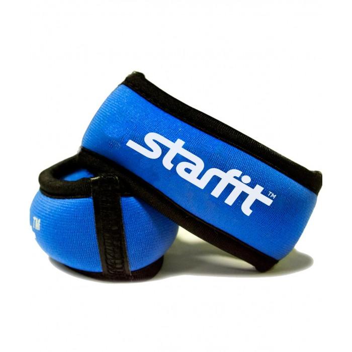 Спортивный инвентарь Starfit Утяжелители для рук Браслет WT-101 0.5 кг спортивный инвентарь starfit гантель виниловая db 103 2 кг