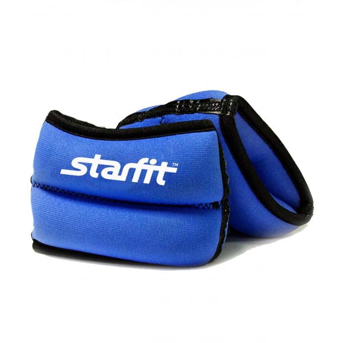 Спортивный инвентарь Starfit Утяжелители для рук Браслет WT-101 1 кг утяжелители star fit wt 101 2x0 75кг пара