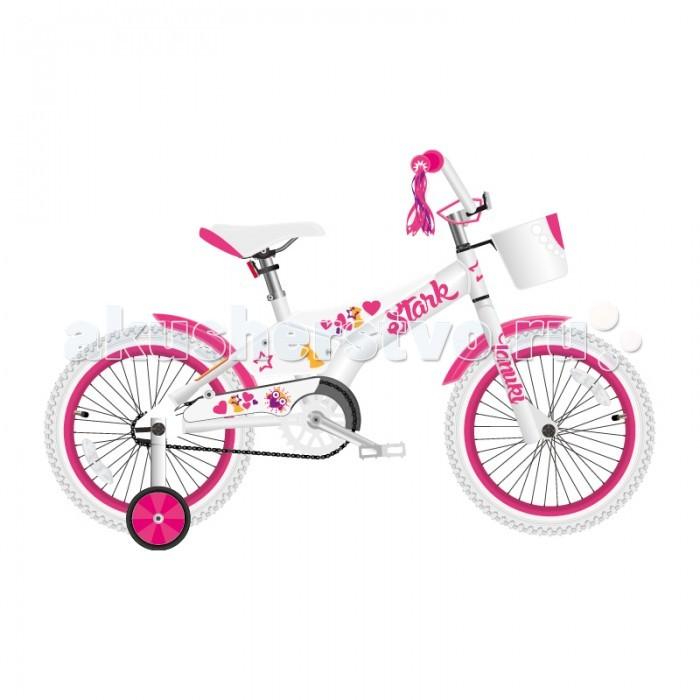 Детский транспорт , Двухколесные велосипеды Stark Tanuki 14 Girl (2018) арт: 455991 -  Двухколесные велосипеды