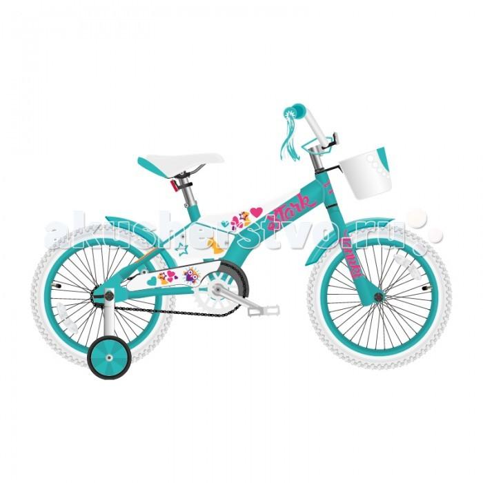 Детский транспорт , Двухколесные велосипеды Stark Tanuki 16 Girl (2018) арт: 456011 -  Двухколесные велосипеды