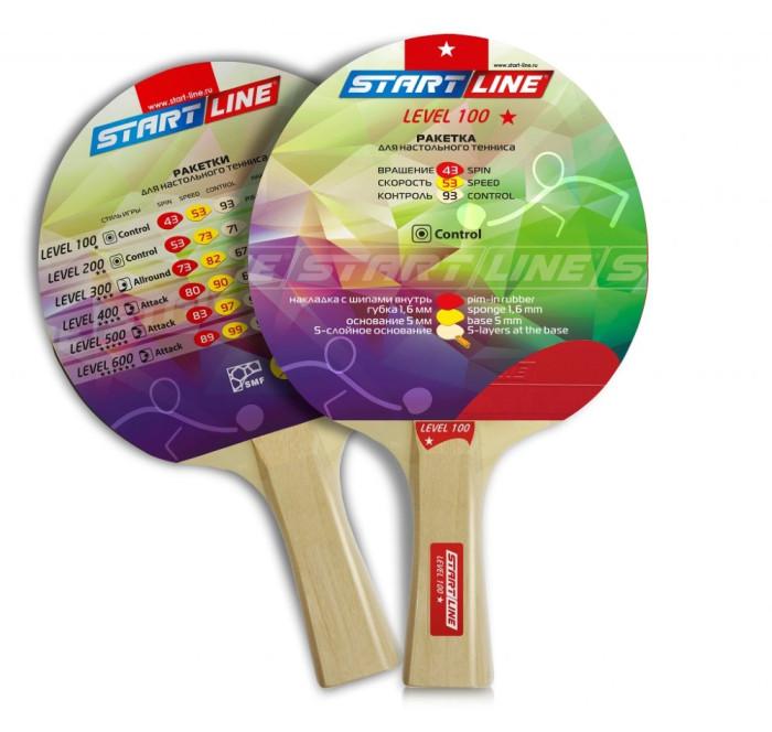 Спортивный инвентарь Start Line Ракетка для настольного тенниса Level 100