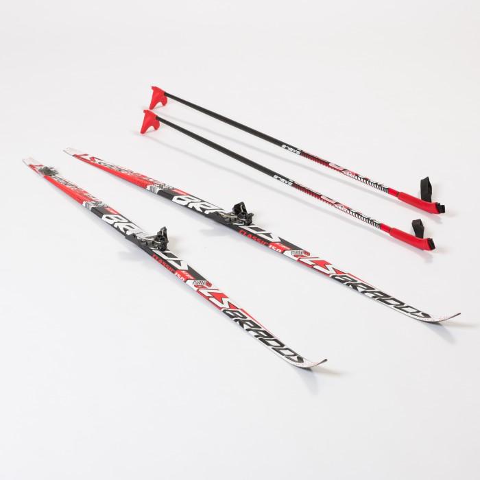 Ледовые коньки и лыжи, STC Комплект лыжный 150 Step Brados LS  - купить со скидкой