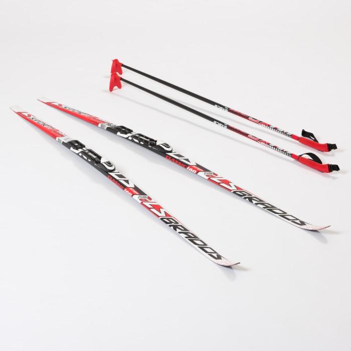 Купить Ледовые коньки и лыжи, STC Комплект лыжный NNN Rottefella 160 Step Brados LS
