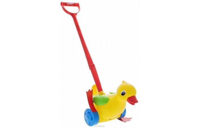 Каталки-игрушки Стеллар Уточка стеллар погремушка дудочка стеллар