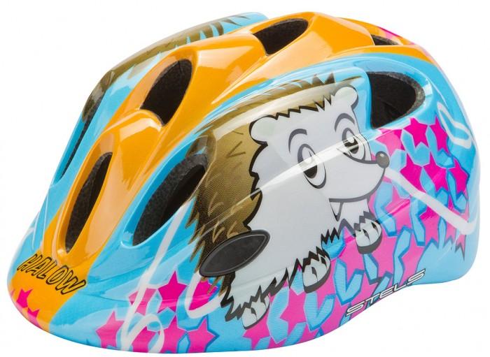 Детский транспорт , Шлемы и защита Stels Шлем детский защитный HB5-2_a in mold Ежик арт: 596744 -  Шлемы и защита