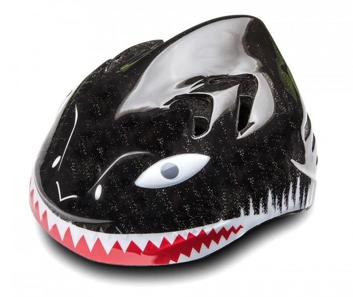 Детский транспорт , Шлемы и защита Stels Шлем детский защитный MV-7 Акула out-mold арт: 596779 -  Шлемы и защита