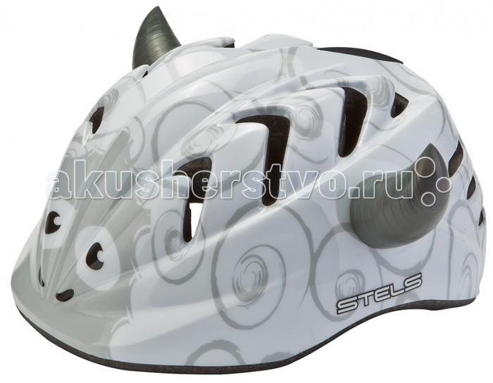 Детский транспорт , Шлемы и защита Stels Шлем детский защитный MV-7 Овца out-mold арт: 596799 -  Шлемы и защита