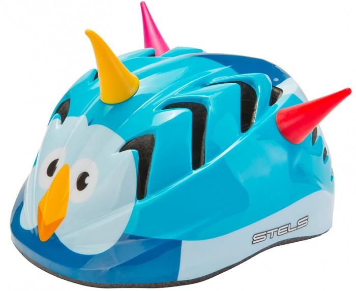 Шлемы и защита Stels Шлем детский защитный MV-7 Птица out-mold