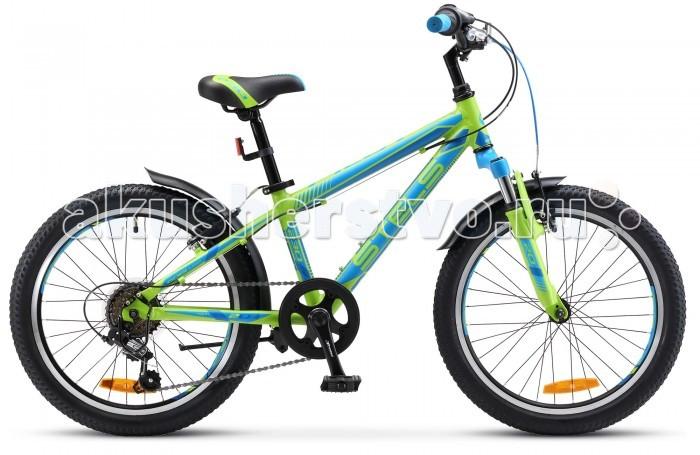 Велосипед двухколесный Stels Pilot 230 Gent (2017)Pilot 230 Gent (2017)Велосипед двухколесный Stels Pilot 230 Gent (2017) с отличными техническими характеристиками.   В этой модели 6 скоростей, алюминиевая рама, амортизационная вилка, ободные тормоза Power V-brake и усиленные обода с двойными стенками. Стелс Пилот 230 Бой подарит удовольствие от велосипедных прогулок по асфальтовым и лесным дорожкам. Байк комплектуется крыльями, подножкой и звонком.   Диаметр колес - 20 дюймов.  Комплектация: 6-скоростная рама  AL (11) амортизационная вилка STEEL с AL коронкой ход 20 мм  SHIMANO SL-RS36/RD-TY21/MF-TZ20 двойной AL обод тормоза V-типа POWER стальные крылья звонок<br>