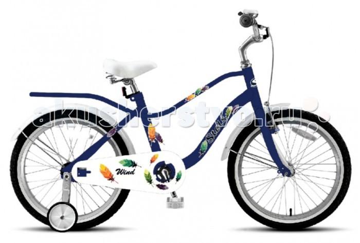 Велосипед двухколесный Stels Wind 14 (2017) Z010Wind 14 (2017) Z010Велосипед двухколесный Stels Wind 14 (2017) Z010 для детей от 3 до 5 лет.  Удобная заниженная рама, позволяющая ребёнку легко садиться и слезать с велосипеда. Съёмные боковые колёсики помогут в обучении катанию. Высокий руль и эргономичное сиденье обеспечивают комфортную посадку.  Руль регулируется как по высоте, так и по углу наклона. Ножные педальные тормоза, отличающиеся наибольшей простотой в использовании и надежностью. Полная защита цепи, мягкие накладки на руле, звонок - всё это сделано для безопасного катания Вашего ребёнка.   В комплект велосипеда также входят: стальные крылья, дополнительные колеса, багажник, зеркало и родительская ручка. Диаметр колес - 14 дюймов.  Комплектация: 1-скоростной рама  STEEL (10) задний ножной тормоз высокий руль с накладками длинные стальные крылья багажник поддерживающая ручка звонок передняя стальная корзина дополнительные колеса<br>