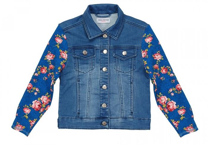 Верхняя одежда Stig Джинсовая куртка для девочки 9629