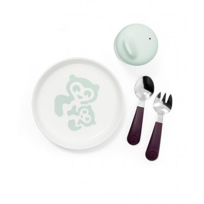 Купить Посуда, Stokke Комплект посуды первой необходимости Munch Essentials