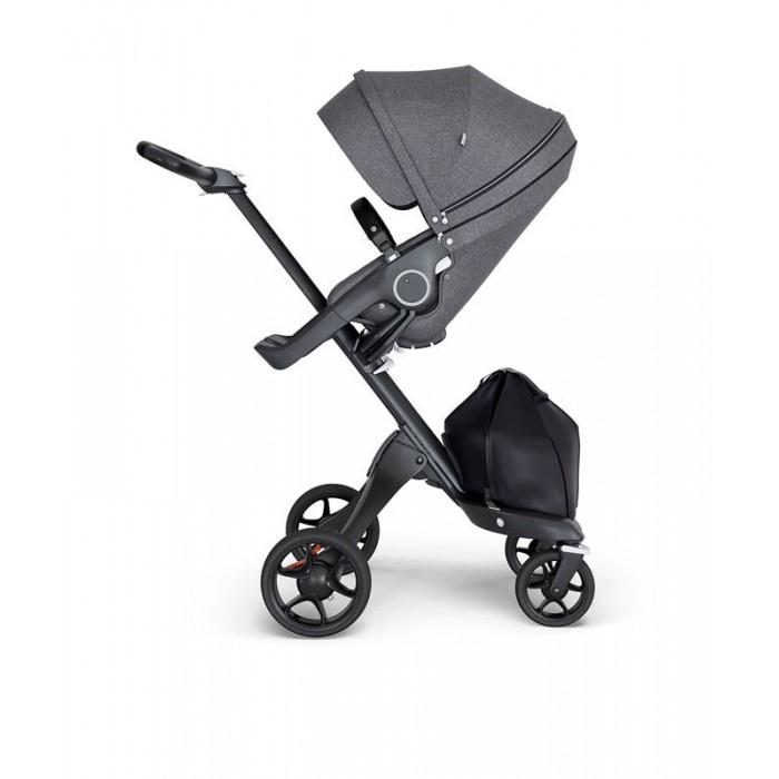 Прогулочные коляски Stokke Xplory V6 с черной ручкой сумка stokke changing bag v2