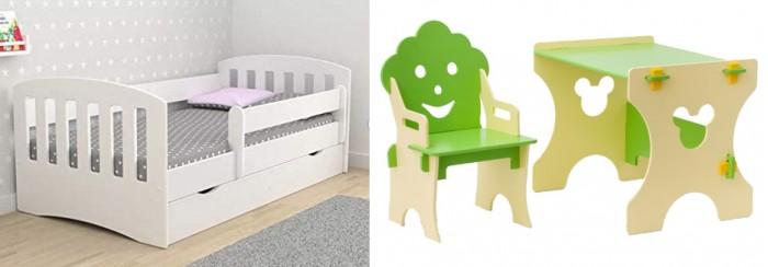 Кровати для подростков Столики Детям с бортиком Классика и столик со стульчиком Гном кровати для подростков столики детям с бортиком стиль 160х80 см