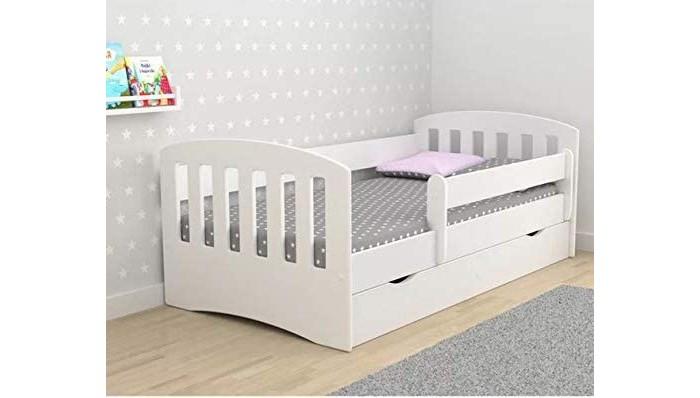 Кровати для подростков Столики Детям с бортиком Классика 160х80 детские кровати со съемным бортиком