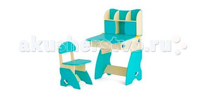 Столы и стулья Столики Детям Комплект столика с дверцами со стульчиком Фантазер
