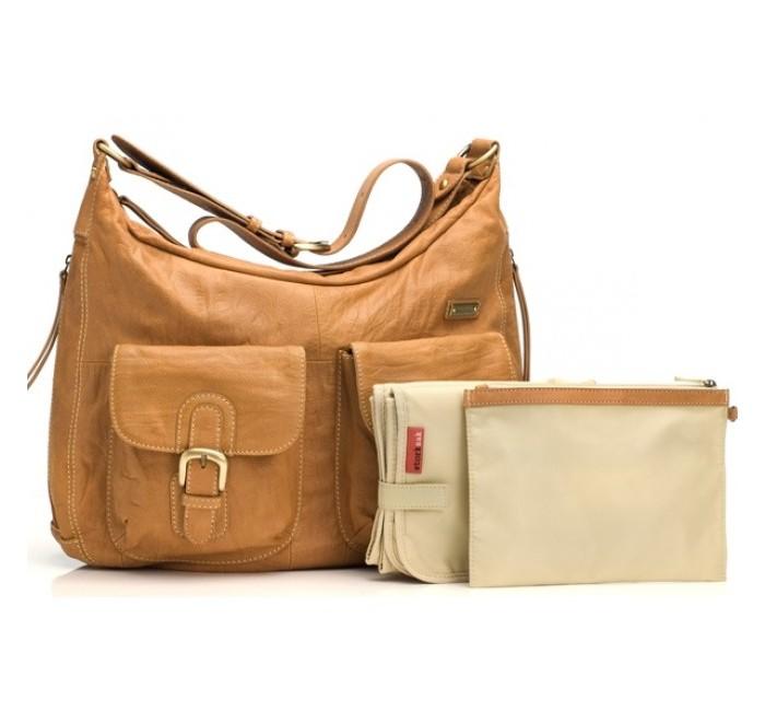 Сумки для мамы Storksak Сумка для мамы Emily Leather сумки для мамы gesslein сумка 3