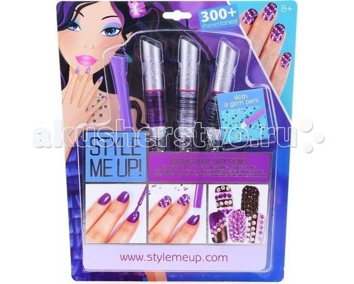 все цены на Детская косметика Style Me Up Художественный маникюр со стразами в интернете