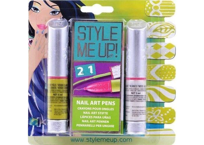 Детская косметика Style Me Up Набор Художественный маникюр 2 в 1 магнитный маникюр style me up 1658