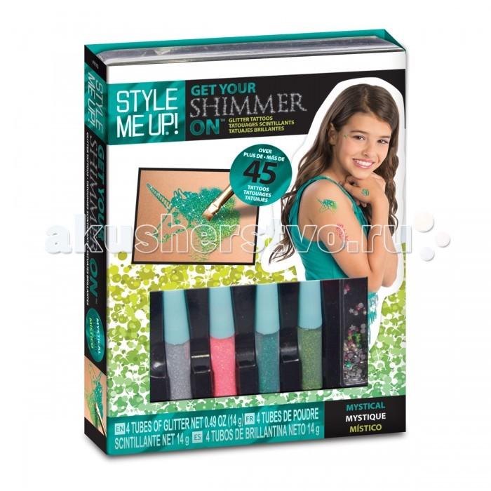 Детская одежда , Аксессуары Style Me Up Набор Мерцающие тату арт: 399379 -  Аксессуары