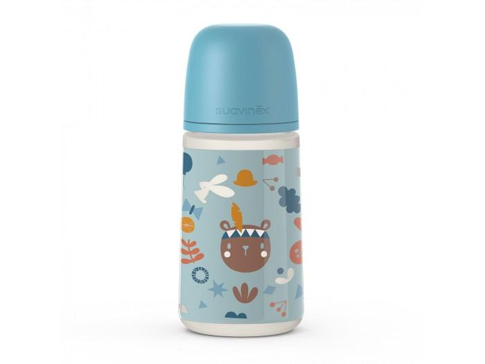 Бутылочки Suavinex с мягкой физиологической силиконовой соской Into the forest 270 мл бутылочки suavinex с мягкой физиологической силиконовой соской fox 360 мл