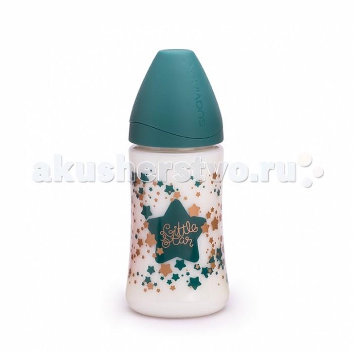 Бутылочка Suavinex Haute Couture полипропилен с силиконовой соской 270 мл