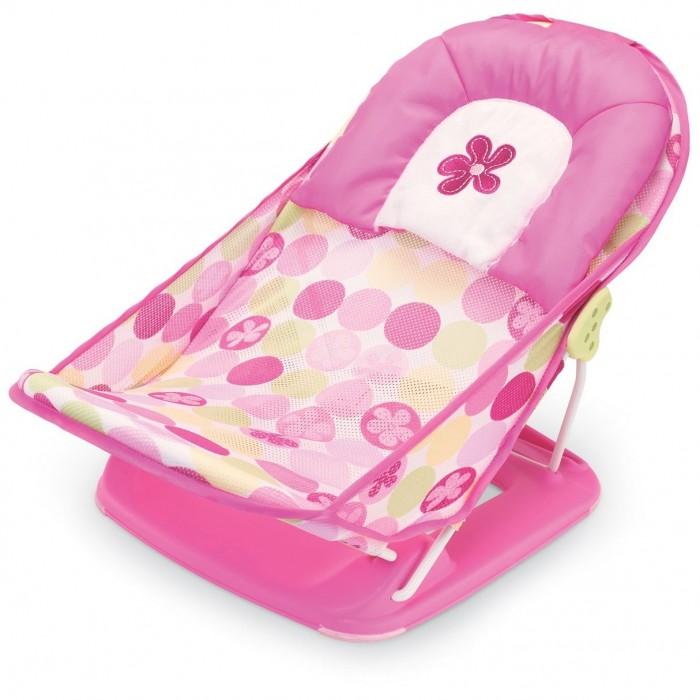 Купание малыша , Горки и сидения для ванн Summer Infant Лежак для купания Deluxe Baby Bather арт: 18154 -  Горки и сидения для ванн