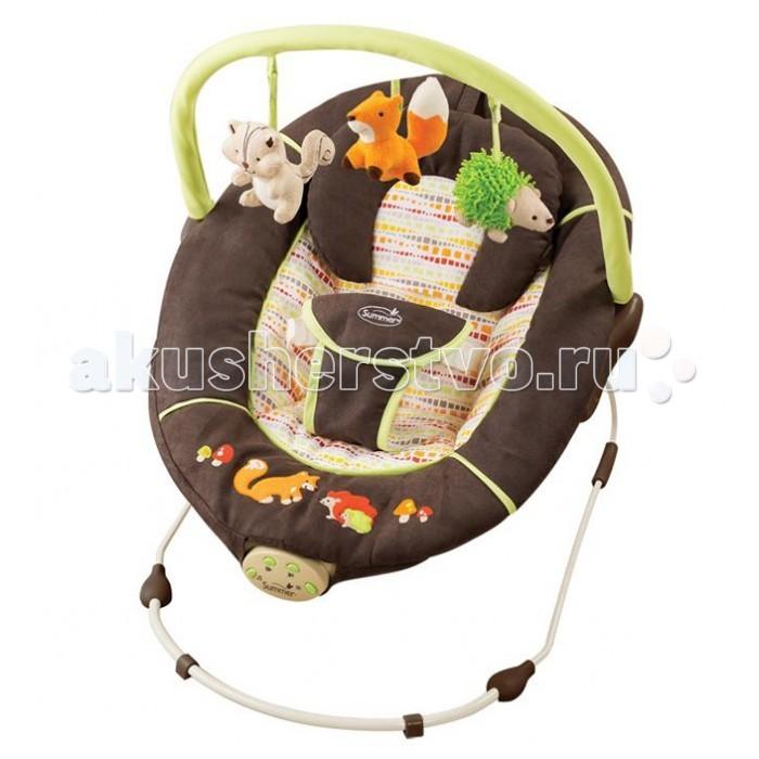 Детская мебель , Кресла-качалки, шезлонги Summer Infant Шезлонг Fox&Friends арт: 401919 -  Кресла-качалки, шезлонги