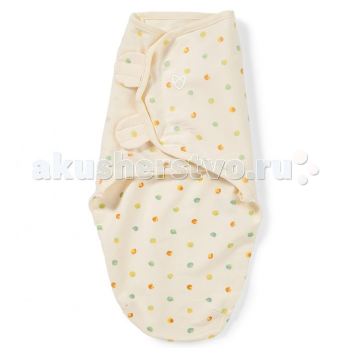Пеленки Summer Infant SwaddleMe Organic Конверт для пеленания на липучке пеленки summer infant swaddleme конверт для пеленания на липучке р р s m