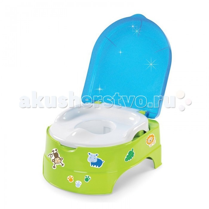 Горшки Summer Infant подножка 2 в 1 My Fun Potty on my potty