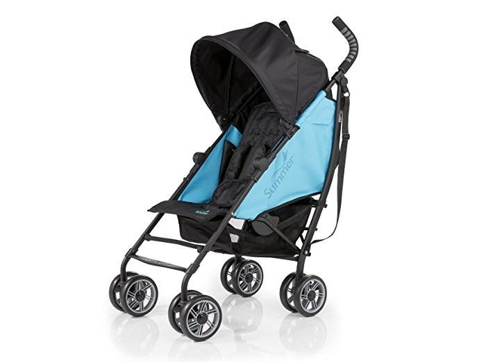 Коляска-трость Summer Infant 3D Flip3D FlipКоляска-трость Summer Infant 3D Flip. Компактная, удобная коляска-трость 3D-Lite Stroller от компании Summer Infant! Идеально подходит для летних путешествий!  Это долговечная коляска, которая имеет легкий и прочный алюминиевый каркас. Съемный навес с откидным козырьком будет надежно защищать ребенка от солнца. Кроме того, удобное широкое сиденье коляски и наличие функции трансформирования в лежачую позицию означают, что ваш ребенок всегда будет чувствовать себя комфортно. Большие колеса позволяют коляске ездить по любой поверхности, а 5-точечный ремень с мягкими накладками обеспечивает максимальную безопасность для вашего малыша.   Задний карман - это удобное место для хранения мелких предметов, например, ключей, а в большую корзину, легко помещаются крупногабаритные вещи.   Особенности: Широкое двухстороннее сидение Опускающаяся спинка (6 положений) 8-колес (по 4 сдвоенных колеса высокой проходимости) Вместительная корзина для покупок. Максимальная нагрузка: 4,5 кг Опускающийся капюшон с УФ-защитой Легкий механизм сложения 5-точечный ремень безопасности с мягкими накладками Передние вращающиеся колеса с возможностью фиксации, задние колеса с тормозами Максимальный вес и рост ребенка: лицом по направлению движения: 22.7 кг и 109 см. Лицом против движения: 11.3 кг и 76 см Задний карман для хранения. Максимальная нагрузка: 0,9 кг В комплекте имеется удобный подстаканник Вес 8 кг.<br>