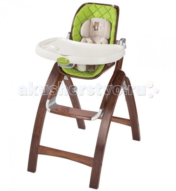 Стульчик для кормления Summer Infant BentWoodBentWoodСтульчик для кормления Summer Infant BentWood  Стульчик Summer Infant BentWood - это безопасное сидение для вашего малыша. У стульчика 3 позиции наклона и 4 положения по высоте сиденья, очень компактный, занимает мало места в сложенном виде. В комплекте есть подкладка для детей ясельного возраста.   Особенности: удобный складной стульчик для игр и кормления малыша;  материал: массив новозеландской сосны;  угол наклона регулируется в 3-х положениях;  сиденье регулируется по высоте – 4 уровня;  максимальный вес: 25 кг;  надежные 5-точечные ремни безопасности;  в комплект входит подкладка для самых маленьких;  компактно складывается и занимает минимум места при хранении и транспортировке.  Размер упаковки: 115х57х24 см. Вес 11.5 кг<br>