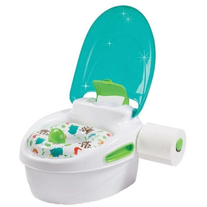 Горшок Summer Infant подножка 3 в 1 Step-By-Step Pottyподножка 3 в 1 Step-By-Step PottyУдобный и многофункциональный горшок от Summer Infant с мягким сиденьем.   Особенности: Горшок легко мыть, отсоединив нижний резервуар.  Съемное сиденье можно использовать для того, чтобы посадить ребенка на унитаз.  Снимите сиденье и закройте крышку – и горшок превратится в стульчик с функцией подставки для вашего малыша. Специальная конструкция защитит от разбрызгивания Оснащен ручками для поддержания равновесия малыша, боксом для хранения влажных салфеток и держателем для туалетной бумаги.  Размер горшка в собранном виде: 37 х 32 х 23 см.  Размер подставки: 37 х 32 х 12,5 см.   Размеры в упаковке: 40 х 35 х 25 см.  Рекомендовано для детей до пяти лет.<br>