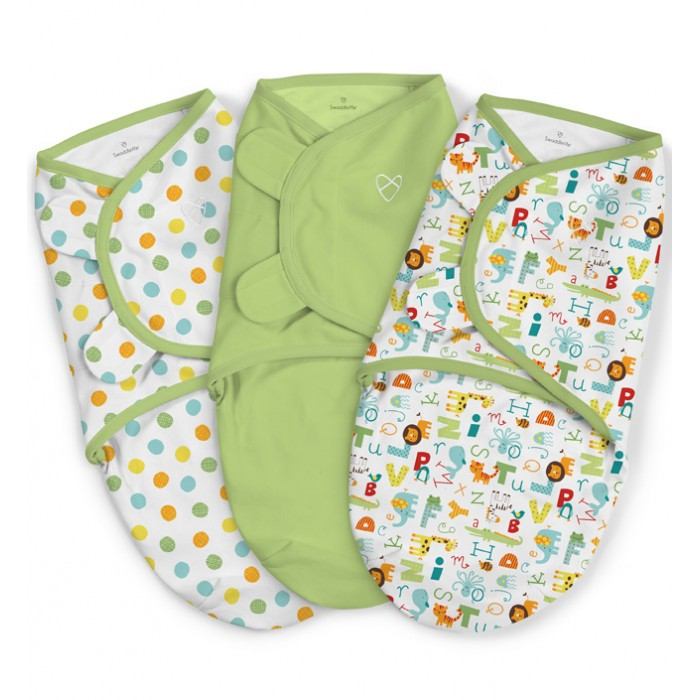 Пеленки Summer Infant Swaddleme Конверт для пеленания на липучке (р-р S/M) 3 шт пеленки summer infant swaddleme конверт для пеленания на липучке р р s m