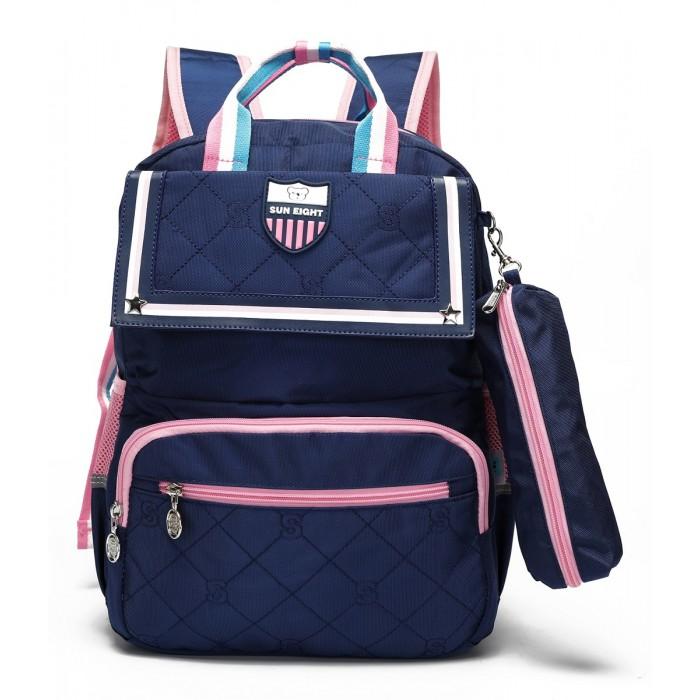 Купить Школьные рюкзаки, Sun eight Рюкзак школьный с пеналом SE-2710