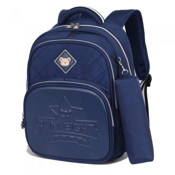 Купить Школьные рюкзаки, Sun eight Рюкзак школьный с пеналом SE-2747