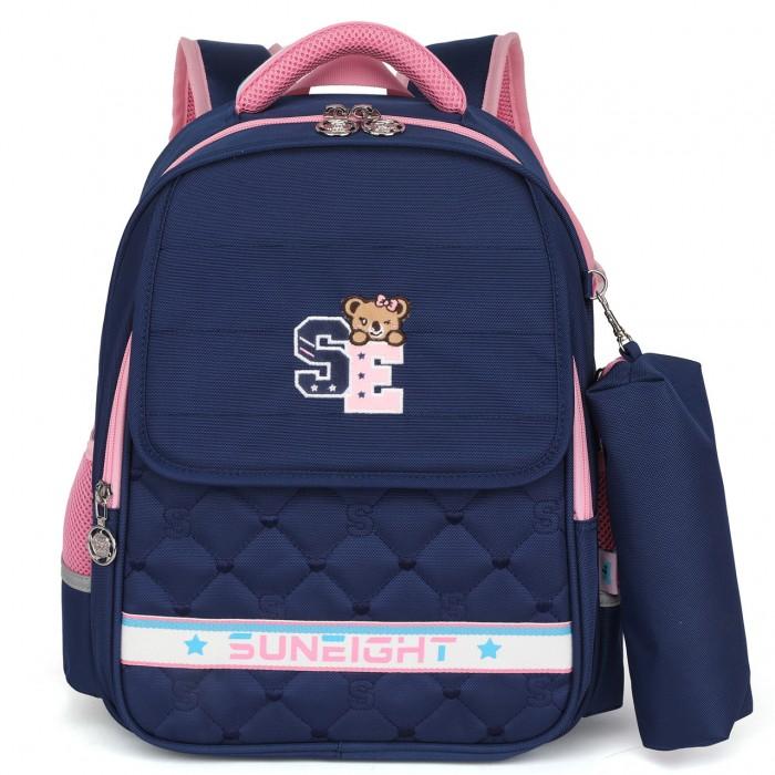 Купить Школьные рюкзаки, Sun eight Рюкзак школьный с пеналом SE-2748