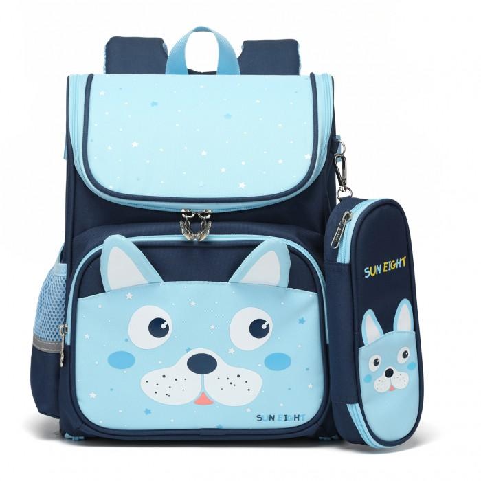 Купить Школьные рюкзаки, Sun eight Рюкзак школьный с пеналом SE-2798