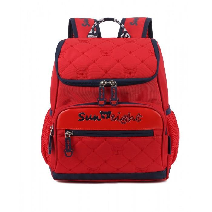 Купить Школьные рюкзаки, Sun eight Рюкзак школьный с пеналом Сердце SE-2312