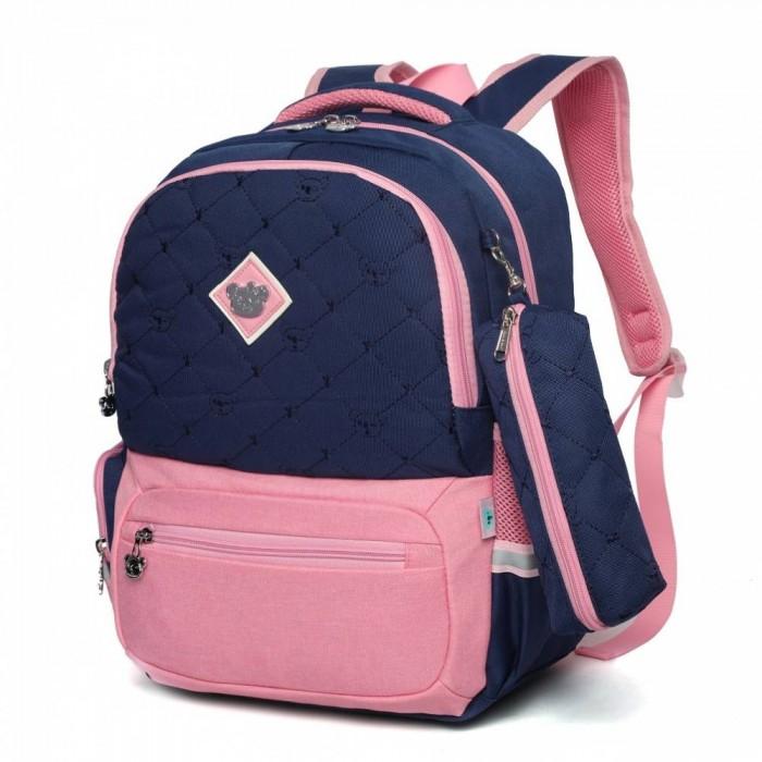 Купить Школьные рюкзаки, Sun eight Рюкзак школьный в комплекте с пеналом SE-2640