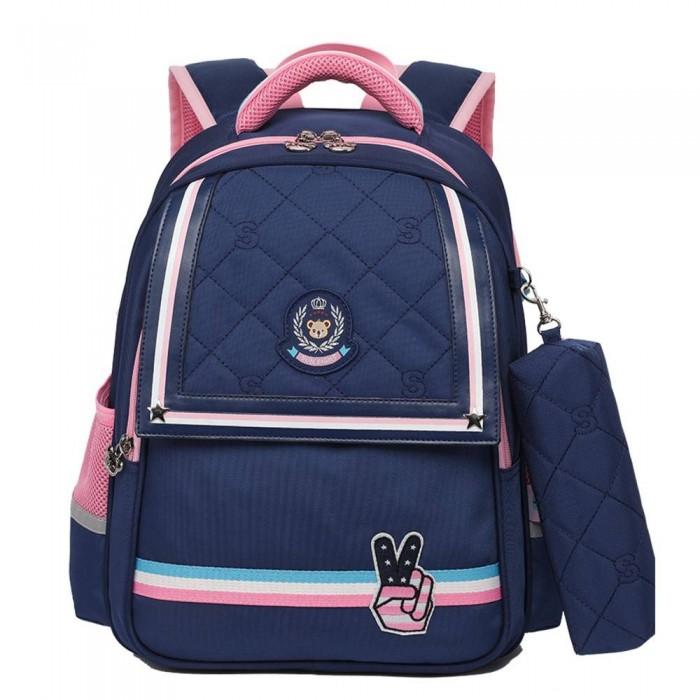 Купить Школьные рюкзаки, Sun eight Рюкзак школьный в комплекте с пеналом SE-2696