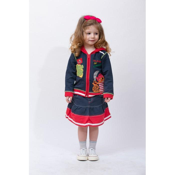Юбки Sunbaby Комплект для девочки (кофта и юбка) 104-0007