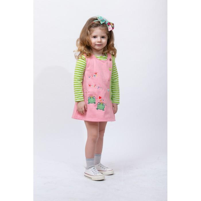Платья и сарафаны Sunbaby Комплект для девочки (сарафан и водолазка) 104-0006