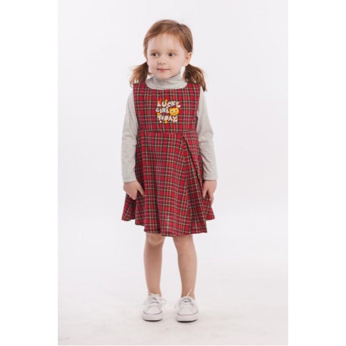 Платья и сарафаны Sunbaby Комплект для девочки (сарафан и водолазка) 204-0022