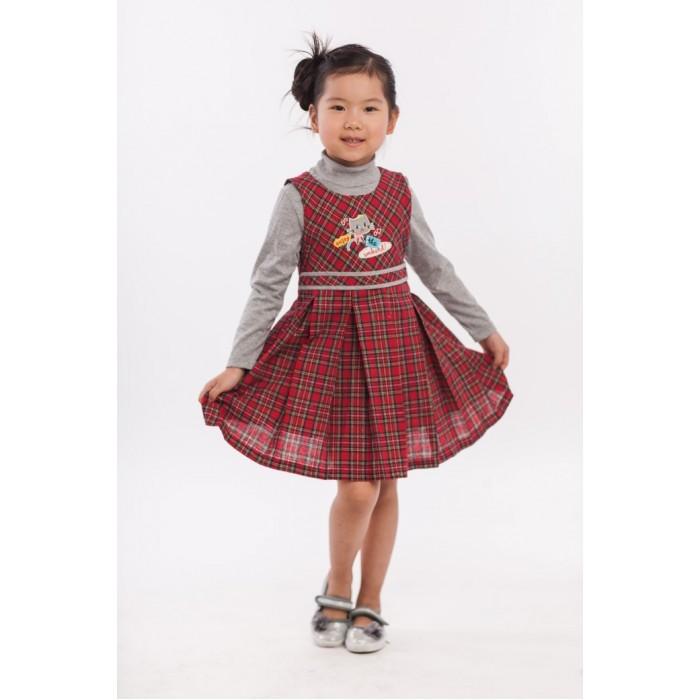 Платья и сарафаны Sunbaby Комплект для девочки (сарафан и водолазка) 204-0023