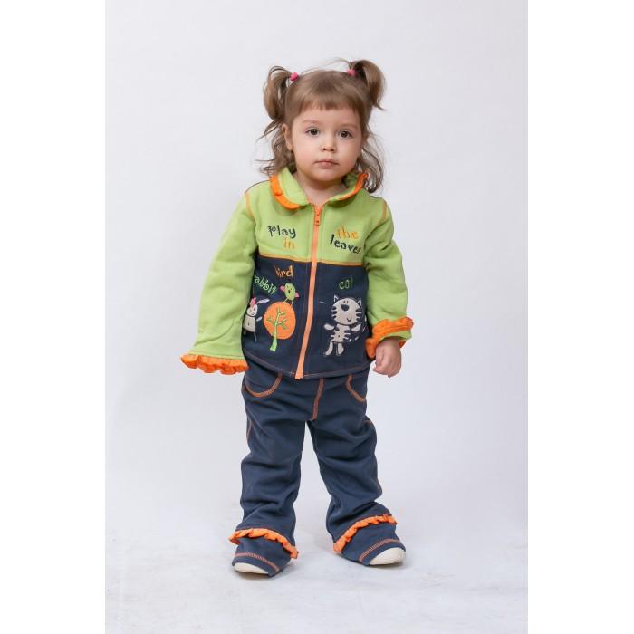 Купить Комплекты детской одежды, Sunbaby Комплект для девочки (толстовка и штаны) 104-0003