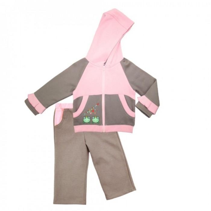 Sunbaby Комплект для девочки (толстовка и штаны) 104-0004