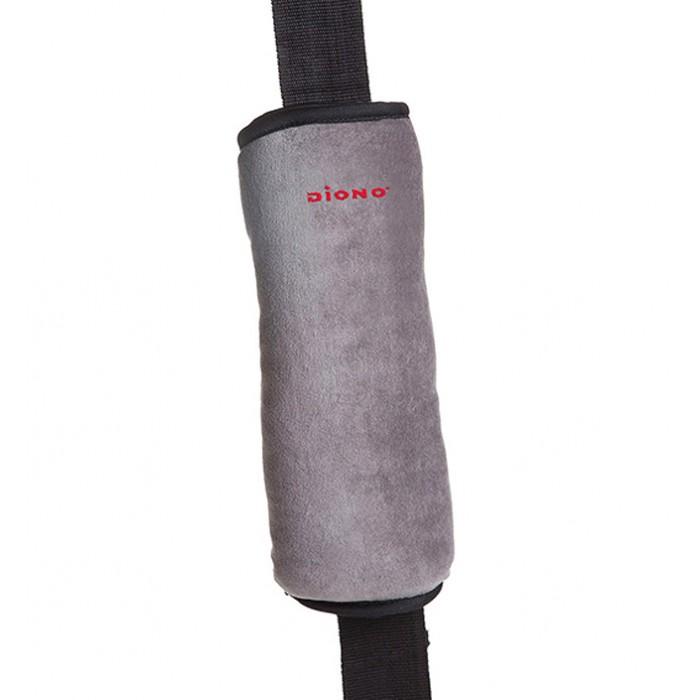 Diono Мягкая накладка на ремень безопасности SeatBelt PillowМягкая накладка на ремень безопасности SeatBelt PillowDiono Мягкая накладка на ремень безопасности SeatBelt Pillow обеспечит комфортный отдых и сон даже во время продолжительных поездок.  Особенности:  исключает натирание ремнём не покрытой одеждой кожи  может также выполнять роль дорожной подушки  рекомендована для детей старше 3-х лет  подходит также для взрослых пассажиров  сделана из флиса, приятного на ощупь  чехол накладки легко снимается для стрики  размер накладки 26.5&#215;9 см<br>