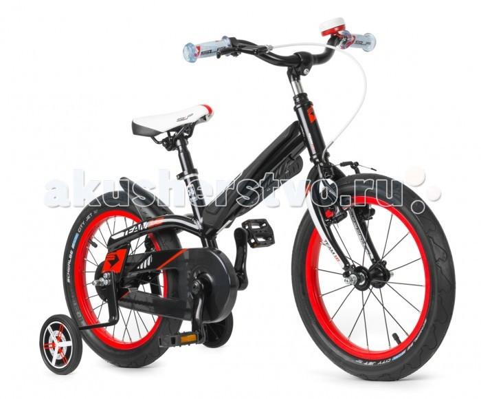 Велосипед двухколесный Superior Team 16Team 16Велосипед двухколесный Superior Team 16, разработанный с учетом детской анатомии. Подходит для малышей в возрасте от 3-х лет. Основная отличительная особенность Superior Sup 16 небольшой вес, который способствует комфортному управлению в любой ситуации.   Для тех, кто только начинает осваивать стального друга, в конструкции предусмотрены дополнительные боковые колеса. Для максимально безопасного торможения помимо заднего ножного тормоза имеется также ручной полупрофессиональный типа V-BRAKE. С легкими покрышками кататься можно еще дольше и без лишней усталости!  Особенности: Минимальный вес обеспечивает легкую и безопасную езду Специальные компоненты, разработанные с учетом размеров ребенка, обеспечивают безопасное и легкое управление велосипедом Верхняя труба изогнута, чтобы обеспечить легкую и безопасную посадку на велосипед, увеличить пространство для маневра и значительно расширить ростовой диапазон велосипедистов Разнообразные элементы безопасности устраняют риск травмы Легкие шины с низким сопротивлением уменьшают усталость от езды и увеличивают возможную дальность прогулок с детьми Рама: Алюминий 606 1.T6, 1 Вилка: rigid Рулевая колонка: Aheadset 1/8 Steel semi-cartridge, подшипник CH800 BC Руль: Alloy raised 460 mm x 50 mm Вынос: Alloy/Steel 22.2/40 mm Подседельный штырь: SAlloy 27.2 mm / 220 mm Седло: Velo Junior Педали: Marwi SP-481 Тормоза: Shimano BR-M422 X-Type Кассета: 18T Цепь: KMC Z410 Система/шатуны: Steel/Alloy 28T/102mm Каретка: Thun JIVE 2.0 Обода: Weinmann VP21 Втулки: KT - A86F paralax alloy/Coaster brake Спицы: Sapim galvanized Покрышки: Shwalbe City Jet 16x1.95 Тормозные ручки: Promax Kids 2-fingers<br>