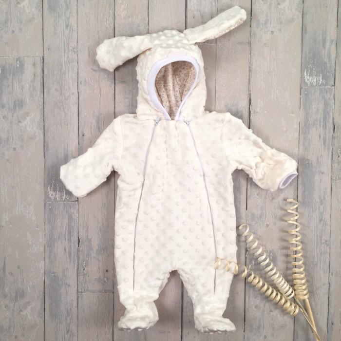 Детская одежда , Комбинезоны и полукомбинезоны СуперМаМкет Комбинезон плюшевый пузырьки арт: 454449 -  Комбинезоны и полукомбинезоны
